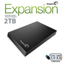 Hd Externo 2tb 2000gb Seagate Expansion Usb 3.0 E 2.0