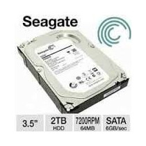 Hd Seagate Interno 2tb Sata3 6gb/s-7200rpm Preço Atacado!