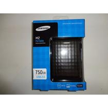 Hd Externo 750 Gb, Samsung, Novo, Lacrado.