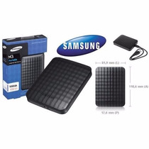 Hd Externo 500gb Usb 3.0 E 2.0 Samsung M3 Portátil Na Caixa