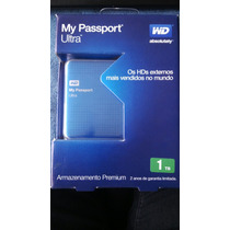 Hd Externo My Passport Ultra 1 Tera Wd
