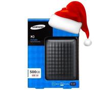 Hd Externo Samsung M3 500gb Usb 3.0 Novo Lacrado