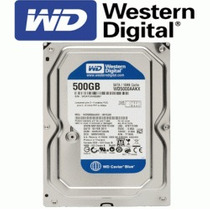 Hd Western Digital 500gb Sata 300mb/s Para Pc E Dvr