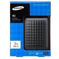Hd Externo 1tb Usb 3.0/2.0 Samsung M3 Portátil Com Garantia