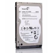 Sshd Notebook Seagate Híbrido 500gb+8gb Ssd 2.5 5400rpm 64mb