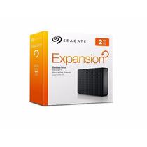 Hd Seagate Expansion 2tb 2tera - Usb 2.0 E 3.0