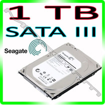 Hd 1tb Seagate Barracuda 6gb/s 7200rpm - 64mb 1000gb - Sata