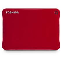 Hd Externo Toshiba Cavion 500gb Usb3.0 Hdtc805xr3a1 Vermelho