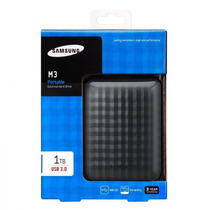 Hd Externo Samsung 1 Tera Lacrado Na Caixa M3 Usb 3.0/2.0