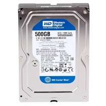 Hd Western Digital Blue Sata 500gb 7200 Rpm 6gb/s Wd5000aakx