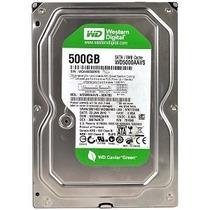 Hd - Hard Disk 500gb Sata 2 Western Digital 7200rpm - 500 G
