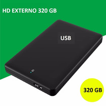 Hd Externo 320 Gb Barato Usb Kit Hd + Case 2,5