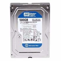 Hd Interno Wd Desktop 500gb Sata3 16mb 7200rpm Wd Caviar Blu