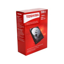 Hdd Interno P/ Desktop Toshiba P300 500 Gb Box Mania Virtual