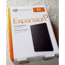 Hd Externo Seagate Expansion Port.1 Tb Usb 3.0 / 2.0 (novo)