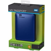 Hd Externo De Bolso 500gb Wd My Passport Usb 3.0