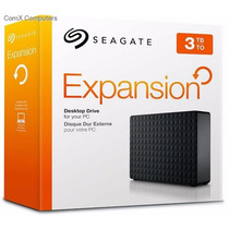Hd Externo Seagate Expansion 3000g 3tb 3tera Usb 2.0 / 3.0