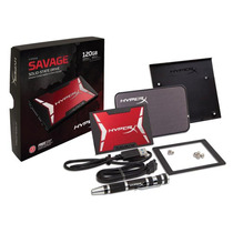Hdd Ssd Gamer Hyperx Savage 120gb 2.5 Sata Iii Com