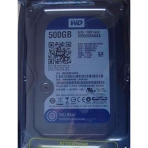 Hd 500gb Wd Caviar Blue Sata 3 6gb/s 3.5 7200rpm 16mb Cache