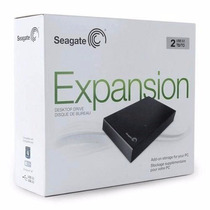 Hd Externo 2tb 2000gb Seagate Expansion Usb3.0 Garantia 1ano