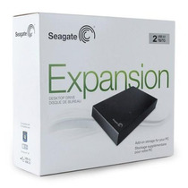 Hd Externo 2tb (2000gb) Expansion Seagate, Usb, 3.5 .7200rpm