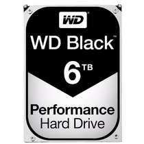 Hd 6tb Black Western Digital 7200rpm 6gb/s 128mb Wd6001fzw