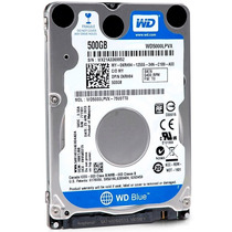 Western Digital Caviar Blue Hd Interno Notebook 500gb, 6gb/s