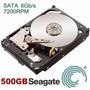 Hd 500gb Sata 7200rpm Seagate Barracuda Desktop