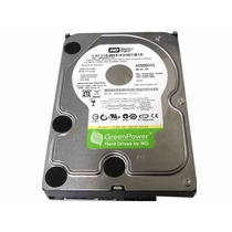 Hd Sata 3gbs 500gb Vaas Western Digital Green Power + Cabos