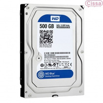 Oferta Hd Interno Wd 500gb 6gb/s 7200rpm Western Digital