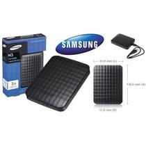Hd Externo Samsung 500gb Portátil M3 Usb 3.0 Original