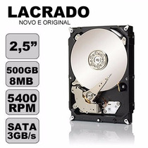 Hd 500gb Sata 3.0gb/s Pc 7200rpm Interno - Envio Rápido