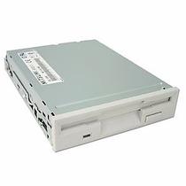 Floppy Drive Para Disquete 1,44 Mb Branco Mitsumi Novo