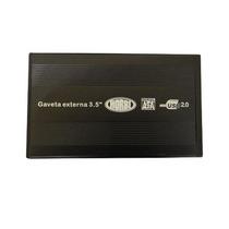 Case Gaveta Externa Hd 3.5 Sata Hd Pc 3.5 Usb 2.0 - C/nfe