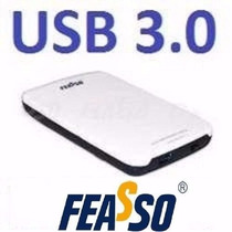 Case Externo Feasso P/hd Sata 2.5 Usb 3.0 Gaveta Hd De Note
