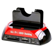 Dock Station 2 Hd Sata Ide 3,5 2,5 Externo Usb T37 All Combo