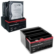 Dock Station Triplo 2 Sata +1 Ide - 2,5/3,5 (h93u2is)