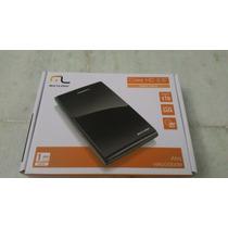 Case Para Hd Externo 2,5 Black Piano Multilaser - Ga 057