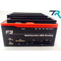 Dock Station Triplo 2 Sata +1 Ide De 2,5/3,5 Docking Station