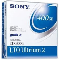 Fita Back-up Lto-2 200/400gb - Sony - Novas E Lacradas!