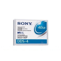Fita Dat Sony Dgd150p Dds4 40 Gigas Cartucho Backup
