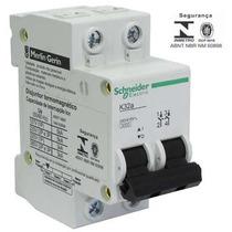 Disjuntor Bipolar C 32a Schneider Caixa 06 + Frete Grátis
