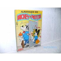 Gibi Almanaque Do Mickey E Pateta Nº 1- Ed. Abril- Equipe Fj