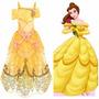 Fantasia Disney Store Linha Luxo, Princesa A Bela E A Fera
