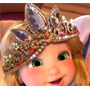 Coroa Trança E Colar Da Princesa Rapunzel Do Filme Enrolados
