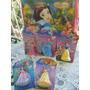 Kit 5 Princesas +bacola Branca De Neve -ideal Para Decoração