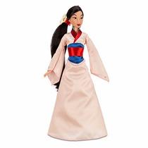 Boneca Princesa Mulan Original Disney 28cms