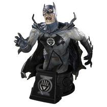 Estatueta Heroes Dc Universe Black Lantern Batman Bust
