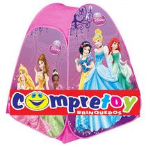 Barraca Portátil Princesas Disney Tenda Infantil Zippy Toys