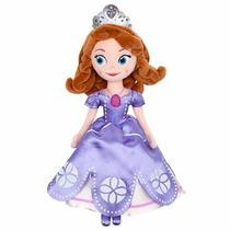 Boneca Pelúcia Princesa Sofia - Disney Store - No Br